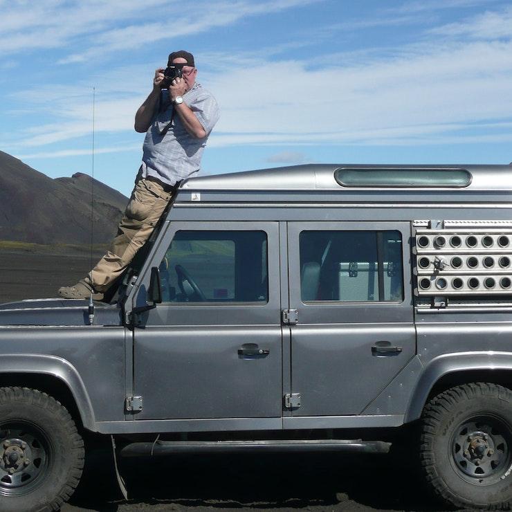 Wanneer je met een 4WD reist, kun je ook het binnenland in van IJsland