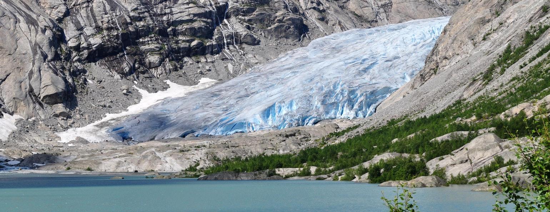 Jostedalsbreen gletsjer, Noorwegen