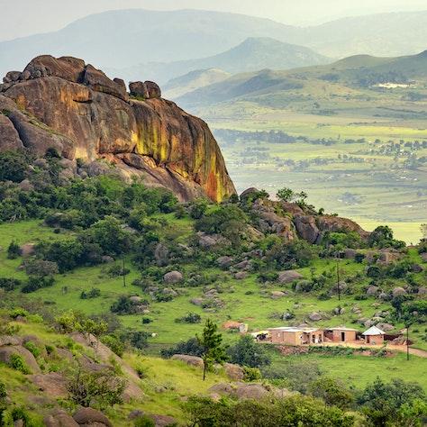 Ezulwini vallei in Swaziland