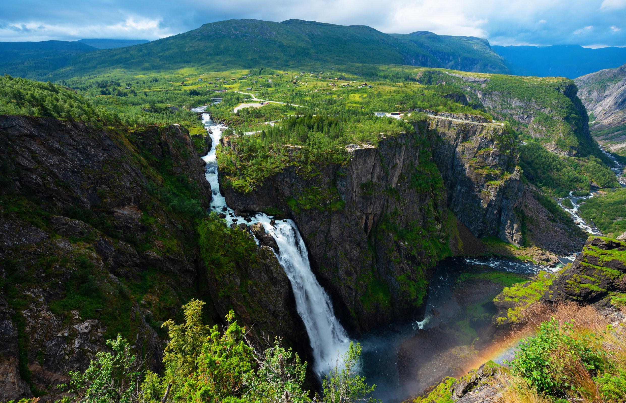 Vøringsfossen, Hardangervidda Nationaal Park, Noorwegen