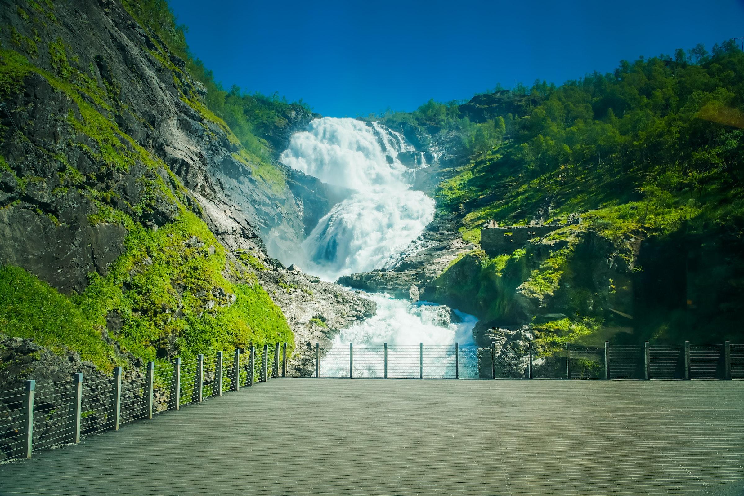 Kjosfossen, Noorwegen